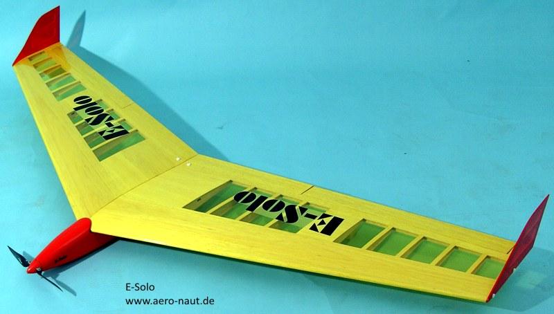 E-Solo Nurflügel-E-Mod