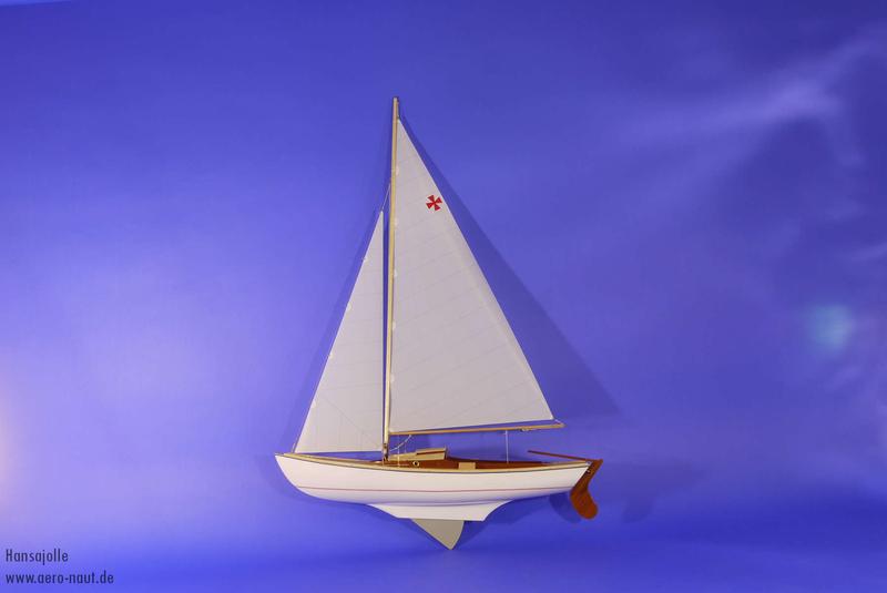 Hansajolle Segelboot