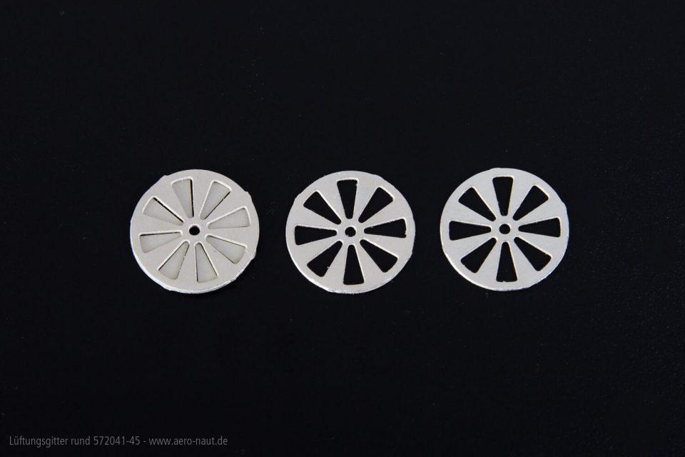 Lüftungsgitter Rd 10mm 2Paar