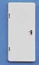 Tür L Weiss 19x10mm