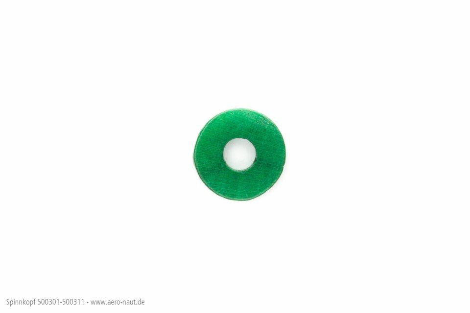 Spinnkopf 18mm Grün