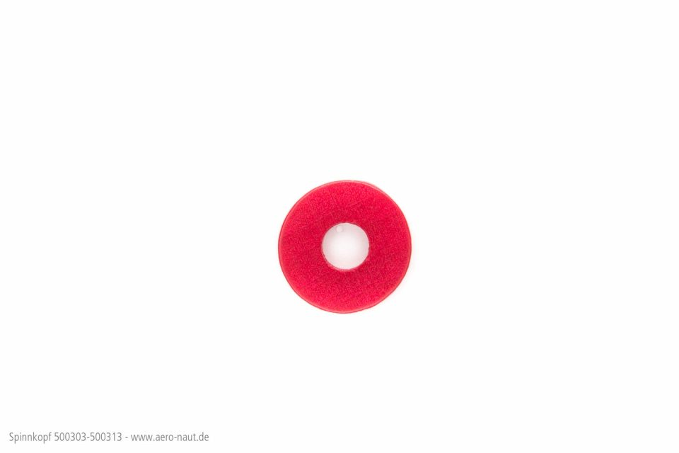 Spinnkopf 18mm Rot