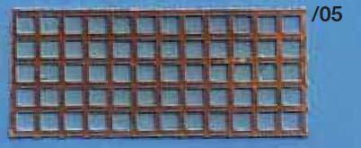 Trittblech 100x250mm