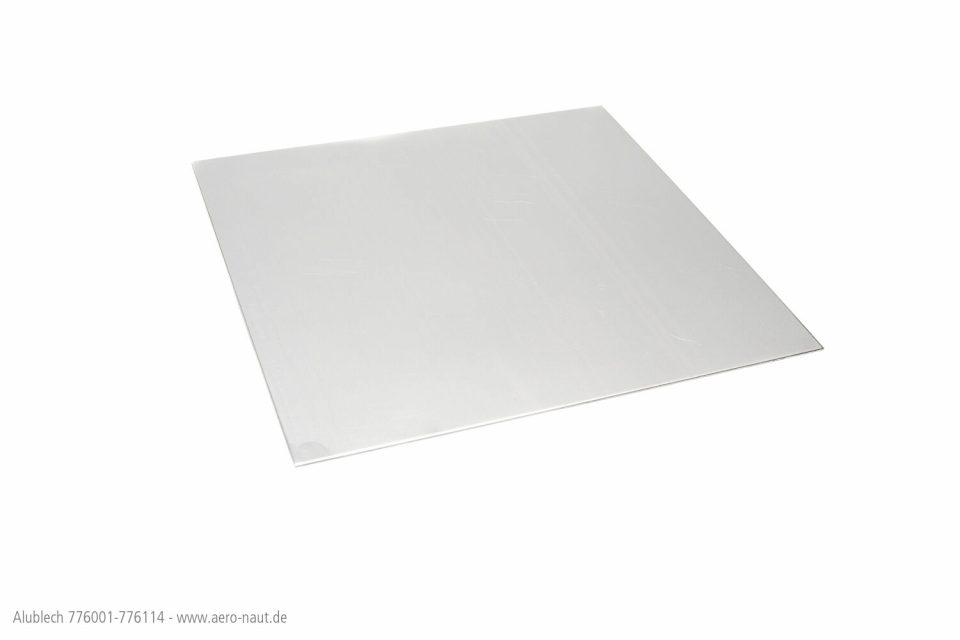 AL-BLECH 200x200x0.3mm
