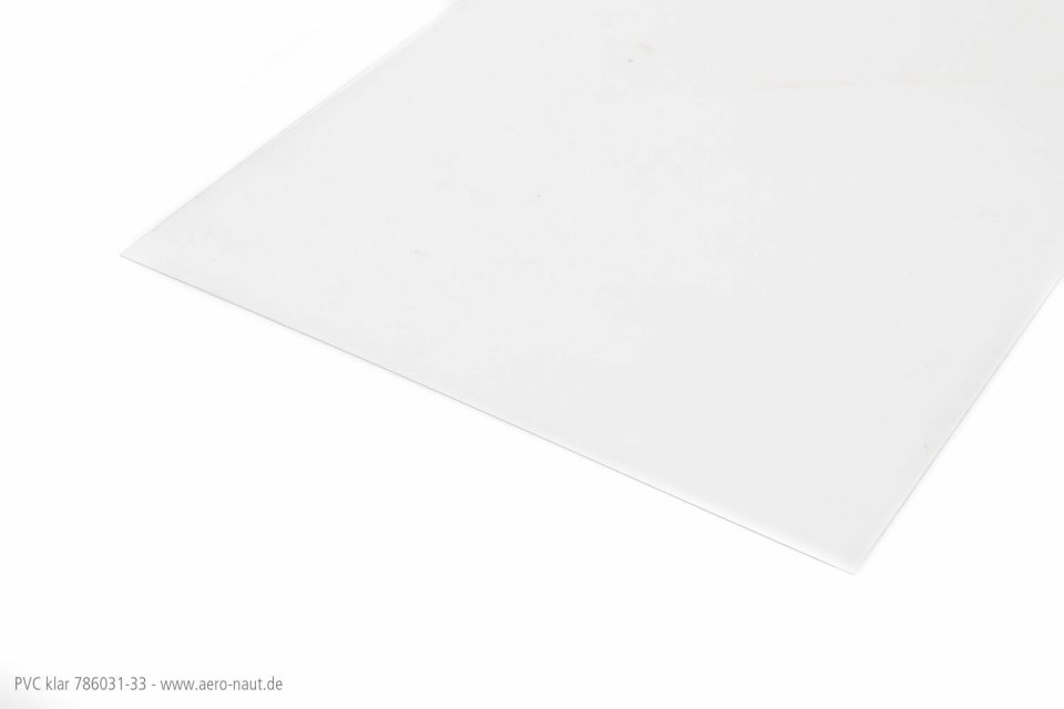 PVC Klar 33x47cm/0,15