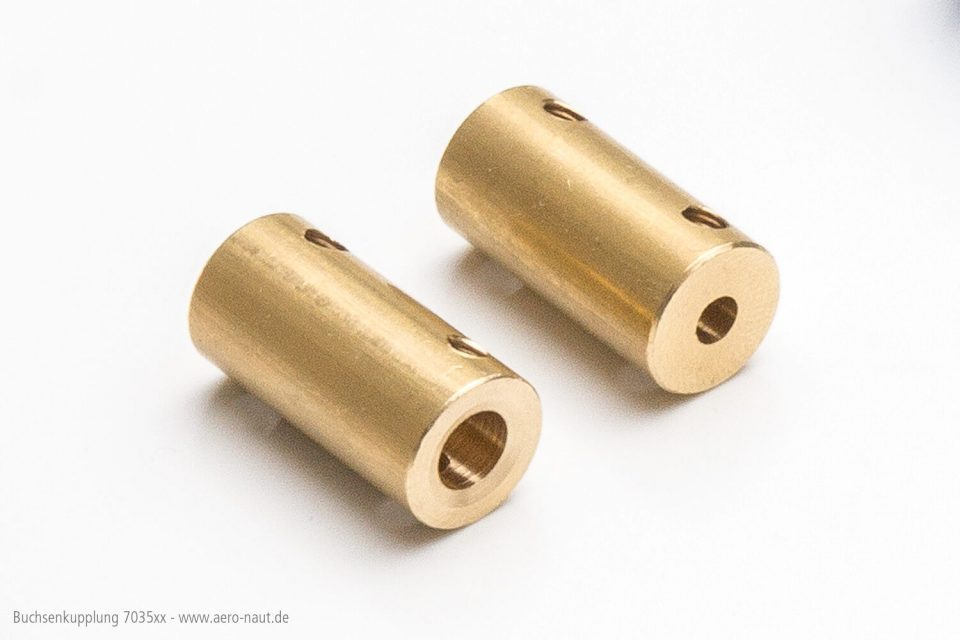 Buchsenkuppl. 4/3,17mm
