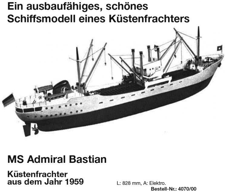 Bauplan ADM. BASTIAN