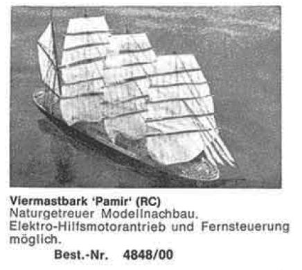 Bauplan PAMIR 1/100