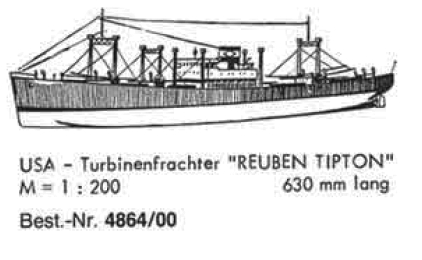 Bauplan REUBEN TIPTON