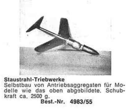 Bauplan Staustrahl-Triebw.